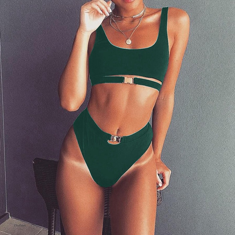 HTB1WQjrDuuSBuNjSsziq6zq8pXaB Vertvie Bikini 2019 Swimwear Women Swimsuit Sexy Bikini Set Solid Bathing Suit Brazilian Beachwear Push Up Maillot De Bain Femme