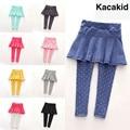 Fashion Toddler Girl Skirt Trousers Children Pants Culottes Render Pants Spring/Fall Kids Girls Leggings Trousers 2019 1-7Y