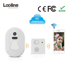 Wifi Doorbell Camera Wireless Intercom IP Camera Wi-fi Looline Wifi Door Bell Camera Photograph Electronic Door Intercom Phone