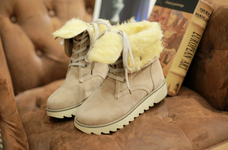 Hot sales Women thick furry boots snow boots big yards-in Snow Boots from  Shoes on Aliexpress.com  207ee600c127
