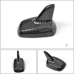 Image 5 - אוטומטי סיבי פחמן כריש סנפיר אווירי גג סגנון אוטומטי שונה רכב אנטנות רכב סטיילינג אנטנה