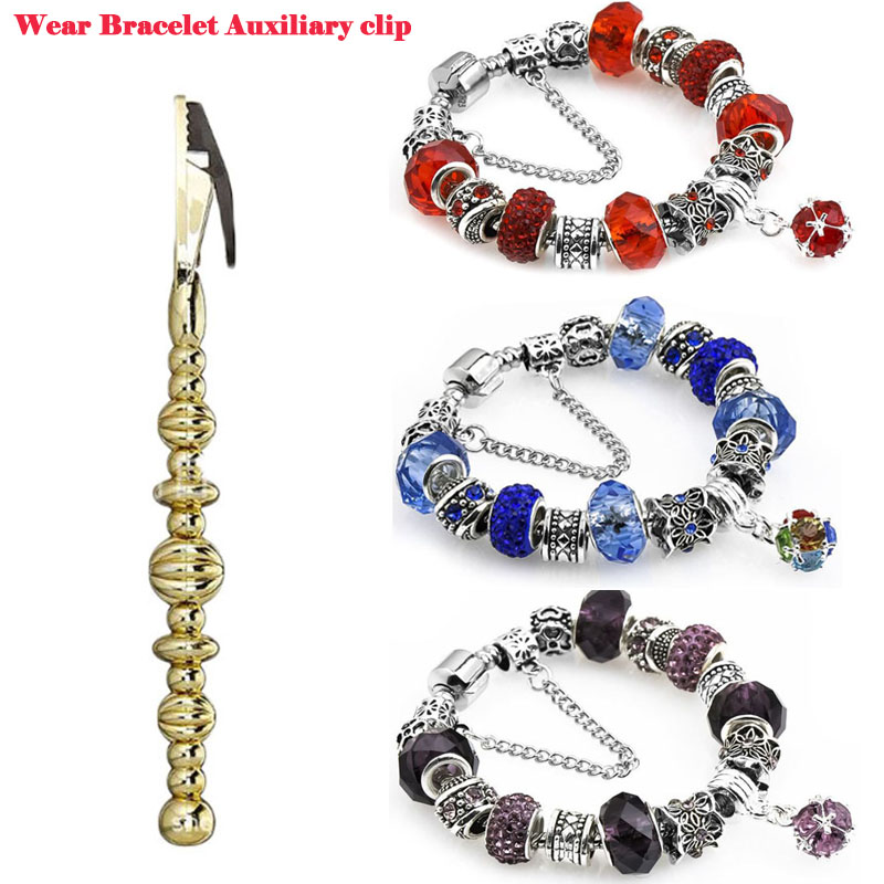 Lady Wear Bracelet clip Auxiliary Tool For Women Putting On Jewelry Chain By Own Necessary Assistant
