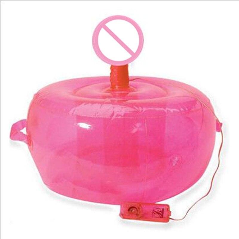 Canapé ballon gonflable mains libres gode vibrant pour les femmes Masturbation Couples flirtant 3 P jeu pénis électrique produits pour adultes
