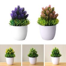 1Pc Fashion Artificial Potted Fake Succulents Plant Bonsai Table Fake Flower Simulation Decor for Home Office Hotel Garden home accessories simulation succulents small potted simulation fairy ball plant bonsai living room fake flower green plant decor
