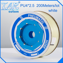 PU tube 4X2.5mm tuyau d'air pour compresseur d'air pneumatique composante rouge 100 m/roll екатерина бурмистрова дети в семье психология взаимодействия