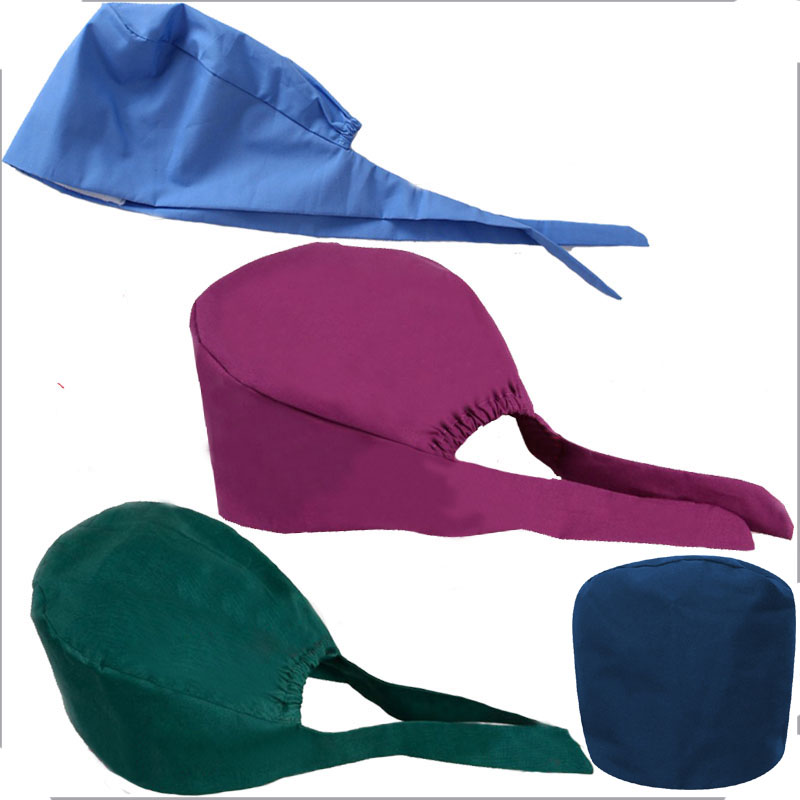 Unisex Medical Uniform Accessories Surgical Cap / Dental Oral And Cosmetic  Work Hat