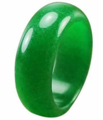Vogue เครื่องประดับสวยสีเขียวหินแหวน