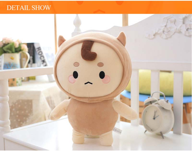 20-55cm Korea Drama Goblin Plush Dolls God Alone and Brilliant Soft Cute Animal Stuffed Ghosts Doll Toys Birthday Gifts For Kids Lover (3)
