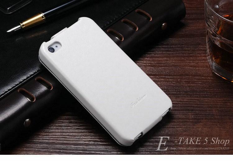 Pokrowiec case dla iphone 4 4s pu skóra pokrywa telefonu torba coque dla apple iphone 4s case luksusowe biznes styl tomkas 5