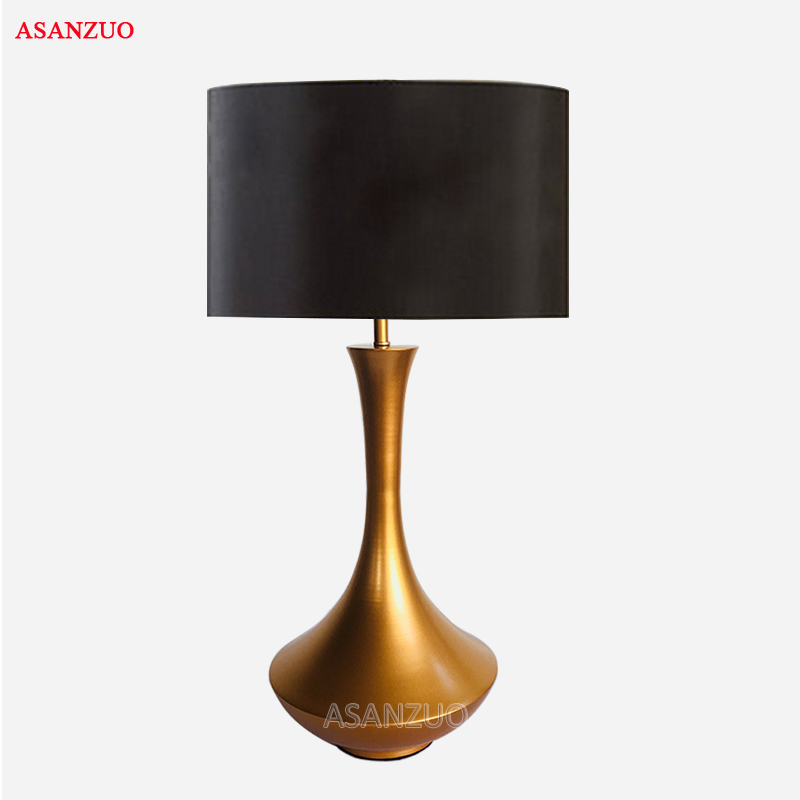 American bedroom table lamp creative simple modern living room study bedside lamp modern personality hotel room decoration lamp french garden vertical floor lamp modern ceramic crystal lamp hotel room bedroom floor lamps dining lamp simple bedside lights