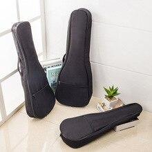 Миниатюрная гитара укулеле сумка 21/23/26 дюймов Портативный Водонепроницаемый музыкальный инструмент сумка на одно плечо, сопрано гитарный чехол ТАС-гитара для переноски Чехол
