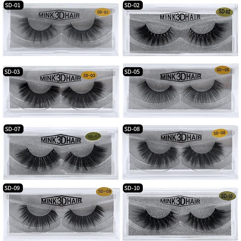 3348d8504b3 Eldridge Fake Lashes 1Pair 3D Mink Eyelashes Hand Made Cilios Long Lasting  Volume Lashes Extension Reusable False Eyelashes ~ Super Deal July 2019