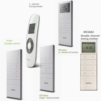 Dooya RF Remote Control DC1600 Single Channel For Automatic Motorised Blinds 433 92MHZ