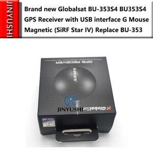 Image 4 - 10ชิ้น/ล็อตGlobalsat BU353 S4 G Lobal S AT BU 353S4เคเบิ้ลUSBรับสัญญาณจีพีเอสที่มีอินเตอร์เฟซUSB Gเมาส์แม่เหล็ก(SiRFดาวIV)