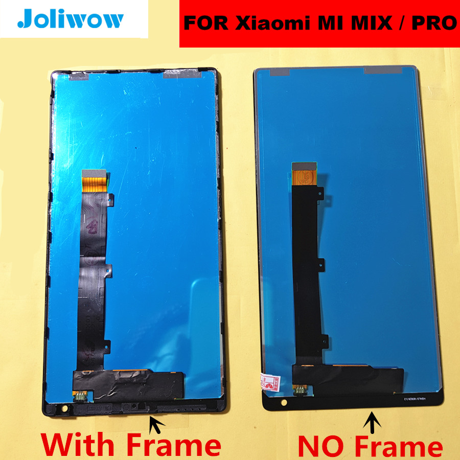 mix Display FOR Xiaomi Mi Mix / Mi Mix Pro 18k Version LCD Display and Touch Screen Digitizer Assembly Replacement Accessories-in Mobile Phone LCD Screens from Cellphones & Telecommunications    2