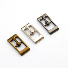 Wholesale Free shipping 90pcs/lot metal small 8mm shoe buckle with pin alloy sandal buckle silver nickle BK-040