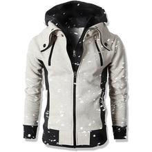 2018 Fashion Brand Hoodies Men Casual Sportswear Male Hoody Zipper Long Sleeve Sweatshirt Jacket European size