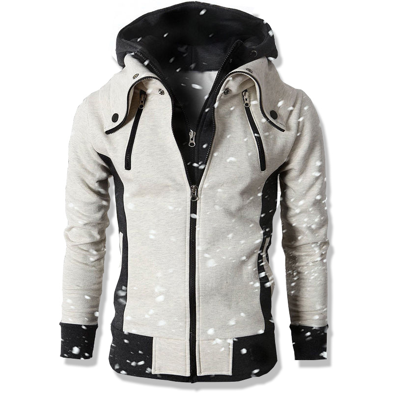 297e15f74edcd 2018 moda marca sudaderas hombres Casual ropa deportiva hombre con capucha  cremallera manga larga sudadera chaqueta