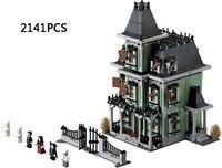 2141PCS Classic Monster Warrior Haunted House Building Block Dracula Vampire Frankenstein Lepins Bricks Compatible Legod 10288
