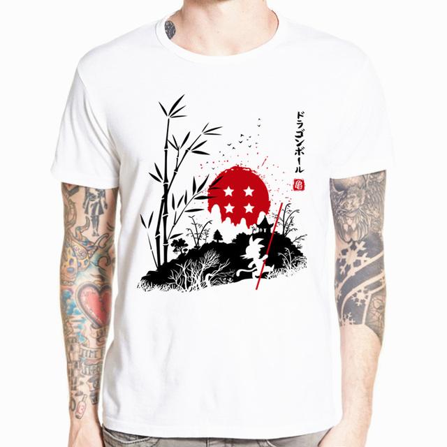 Dragon Ball Z Camisetas estampadas