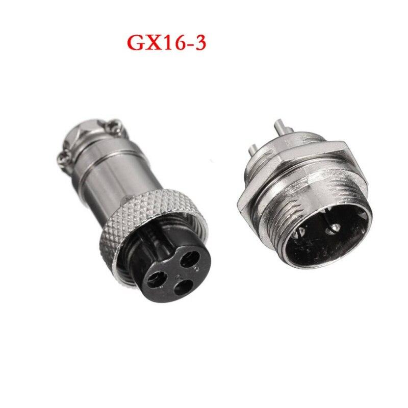 GX16 2/3/4/5/6/7/8/9 Pin Male & Female Diameter 16mm Wire Panel ...