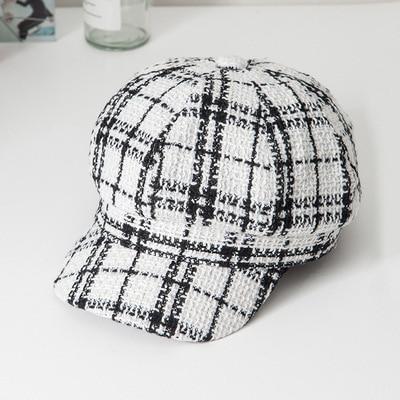 Lattice Beret Hat Spring...