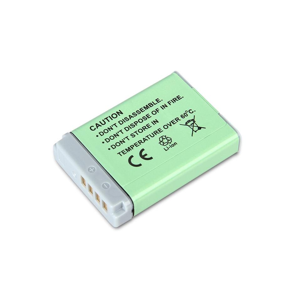 SANGER 1250mAh NB 13L NB13L NB 13L Digital Camera Battery For Canon G7 X Mark II G7X PM165 G5 X G5X G9 X G9X SX620 SX720 HS in Digital Batteries from Consumer Electronics