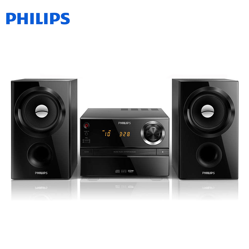 Micro music system Philips MCM1350 Musical centers and radio cassettes speakers home audio