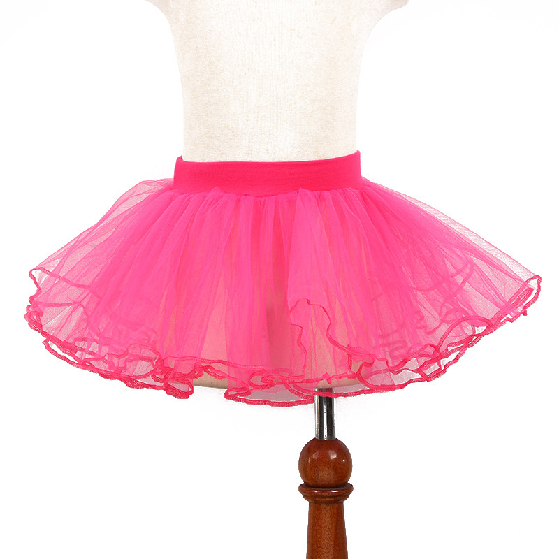 Free shipping Girls 39 half body lace yarn children 39 s skirt girl 39 s princess skirt photo studio ballet tutu dance bubble skirt in Ballet from Novelty amp Special Use