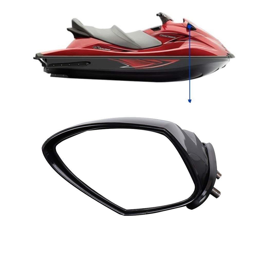 KEMiMOTO Left Right mirror for Yamaha PWC WaveRunner VX Deluxe 110 Cruiser Sport side rear view mirrors #F1S-U596B-10-00 jet ski