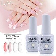 6pcs/lot ibdgel Multifunctional builder gel polish 15 ml soak off UV/LED Nail gel. цены онлайн