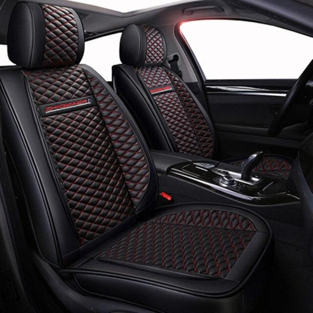 Фото lcrtds универсальный кожаный чехол для автомобильного сиденья