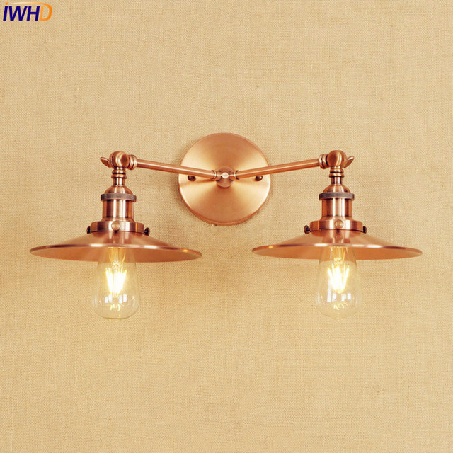 Iwhd antique edison led wall light fixtures home indoor lighting iwhd antique edison led wall light fixtures home indoor lighting adjustable arm industrial vintage wall lamp aloadofball Choice Image