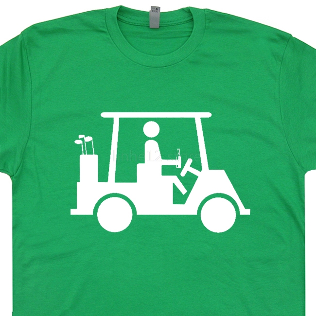 Funny Golf T Shirt Cool Golfing T Shirts Caddyshack Shirt Funny Movie Tee 2019 new streetwear men's short-sleeved T-shirt image
