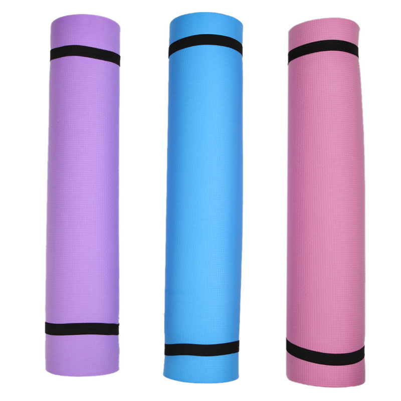 6mm Thick Durable Exercise Fitness Non Slip Yoga Mat Lose