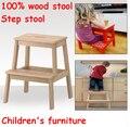 Новые Оптовые! День защиты детей подарки, дети шаг стула, детские стулья, 100% деревянный стул, шаг стул, мебель детей