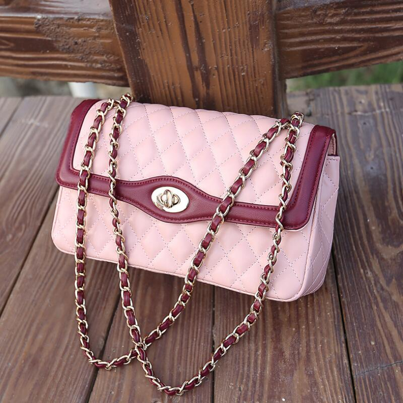 2018 latest style handbag women famous brand shoulder bags chain Crossbody bags women fashion luxury brand designer women bag