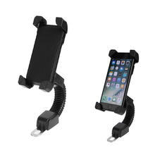 Motorcycle Mobile Phone Holder Electromobile Motor Mount 3.5 6.5 inch Phone Stand