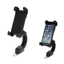 Supporto per Telefono Cellulare moto Auto Elettrica di Montaggio del Motore 3.5 6.5 pollici Del Telefono Del Basamento