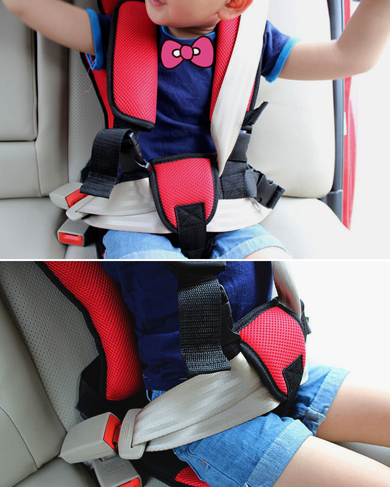 aliexpresscom buy portable car kids safety seat chair baby cushion seat car styling auto chair for children toddler comfortable seat cover harness from