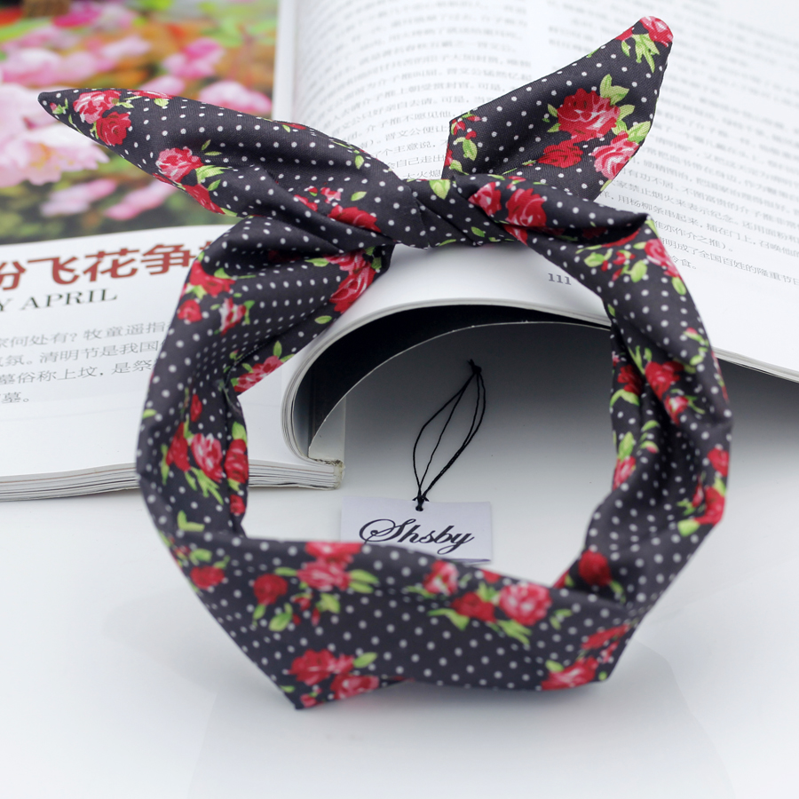 Shsby Watch accessories Ladies flower cloth Watch Bands women Wrist Bands For Clock Children Headwear girls hair bands mixed 4 hot sale women s hair accessories high quality elastic rubber bands for girls ponytail holder rope female headwear tie gum ns075