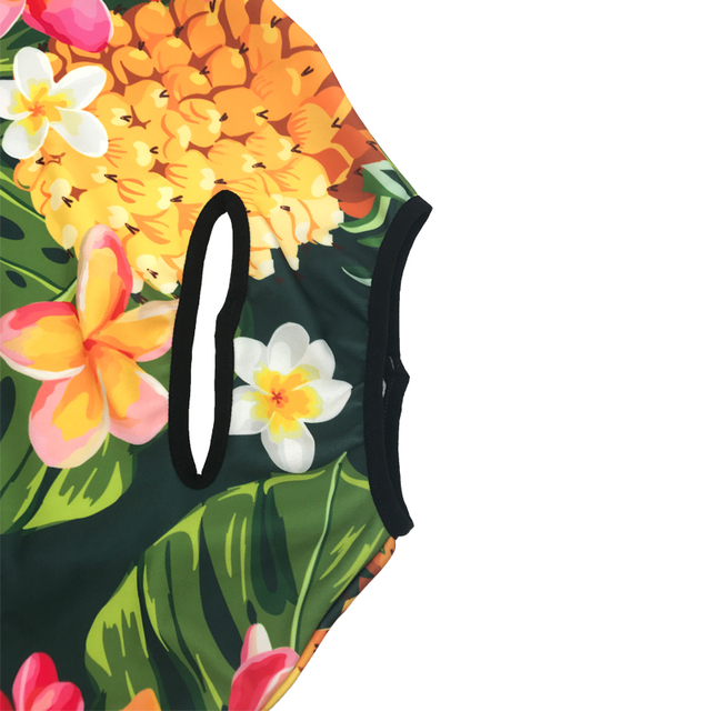 Travel Luggage Cover Hawaiian Style Suitcase Protective Case