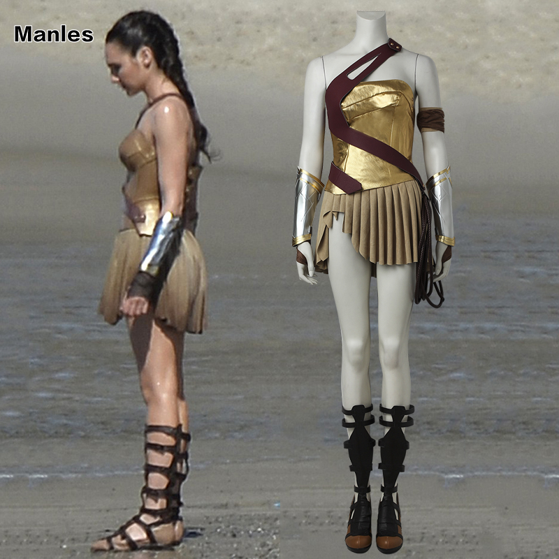 Wonder Woman Cosplay Diana Prince Costume Carnival Fancy Skirt Sexy Outfit Battle Suit Halloween Costume Adult Women Tailored