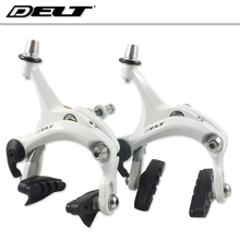 Buy online 1 set Front and Rear FOR Road Cycling bike Bicycle C brake caliper side pull brakes caliper 47-62MM