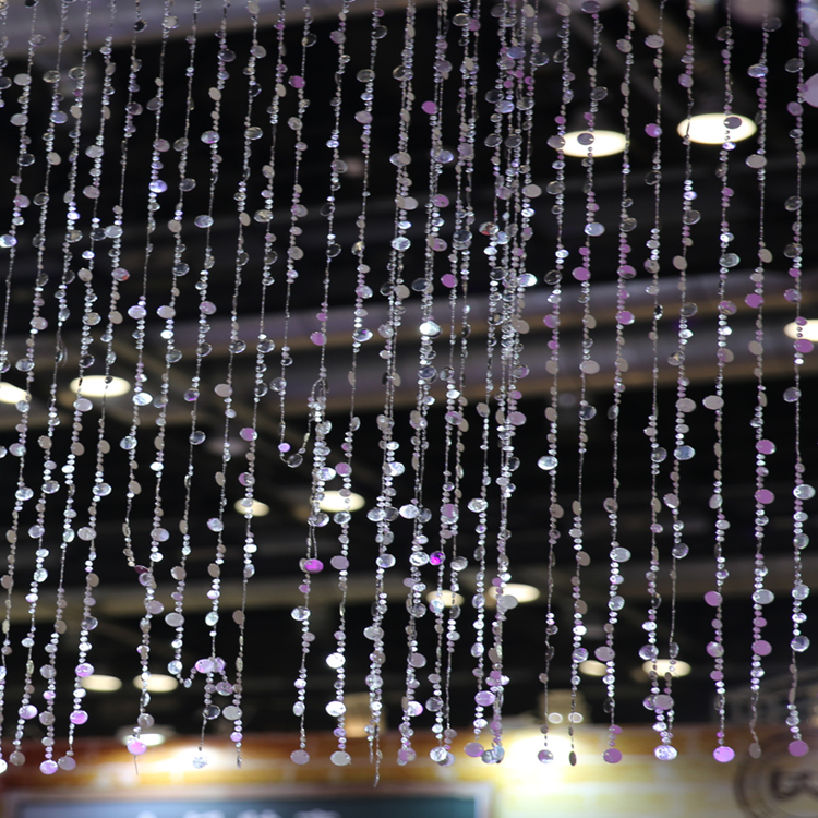 10PCS 12FTHeight Bubbles Beaded Curtains  Chandeliers