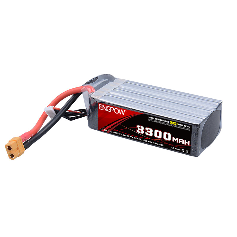 Rechargeable Lipo Battery ENG Power 11.1V 3300mAh 70C 3cell Lipo Battery For RC Multirotor Model Parts eng