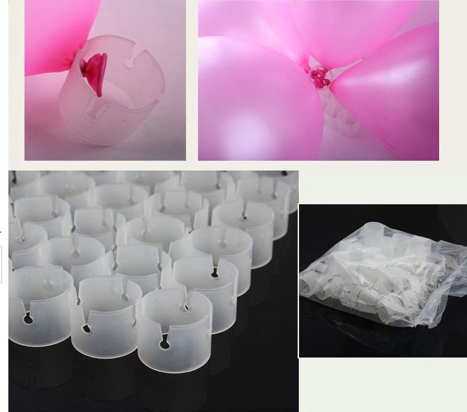 unids decorativos accesorios de clip de carpeta de mltiples globos globo arco de globos globo
