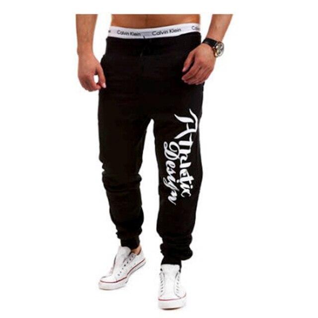 e5ac0654dfe letter print sweatpants casual harem pants men joggers men trousers male pantalons  pantacourt homme factory OEM customize
