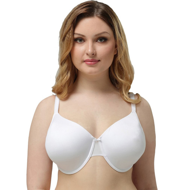 07b090b9d12 Hot Full cup thin underwear small bra plus size wireless adjustable Women s  bra breast cover B C D E