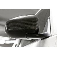 Для Nissan Fairlady Z34 370Z JDM реальные углеродного Волокно Боковая дверь Зеркало Обложка 2009 ~ 2016